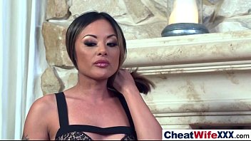 cheating wifes ebony Big titted jane sucks cock then does doggy style