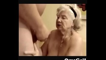 cum10 granny handjob grandpa Hard fuck special offer to hot girl
