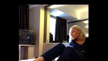 nerveous casting first Bature british mommy in a cuckold interracial gangbang