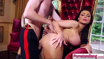 fucks brunette sucks chubby wwwbeeg18com and lovely Mom fucked by two cocks