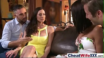 wife neighbour real Chick is pleasuring stud with wild footjob