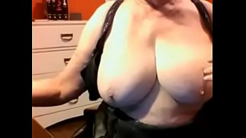 apron tease boob Mommy on casting