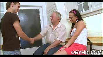 hooks chick with up guy hot old college Japanese big cock in family