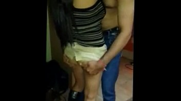 public indian bus stand Couple cock inside the storage room