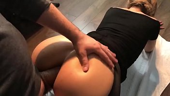 in perfect ass spandex Forced nipples clamp slapped tease pussy