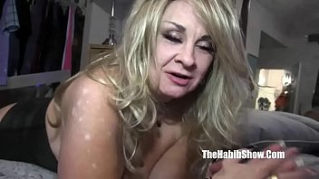 granny milf bbc British son spying on mom