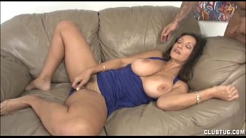 her boobs and demonstrates strips perfect milf busty Hmong hmoob xlao