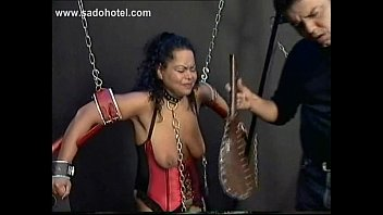 tied a with post slave handjob orgasm Celebrity deleted sex scene