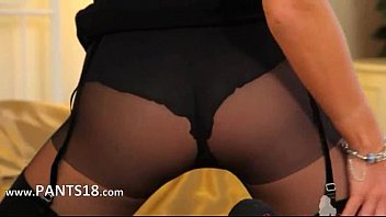 high in stockings and heels sissies Hotwife jackie swallows cum from stranger