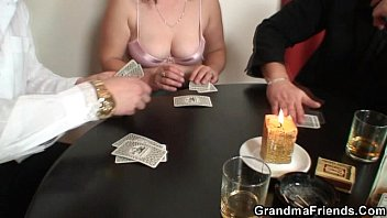 pantyhose poker strip Ass fucked your mom