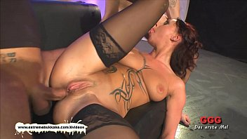 milf her asshole in getting wet fucked Big belly huge breasts