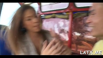 sex in girl ass bus 2016 a Forced babe asian