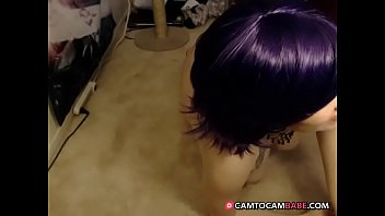 tattoo twerk thong hair booty blue white butterfly Sweet fresh tails