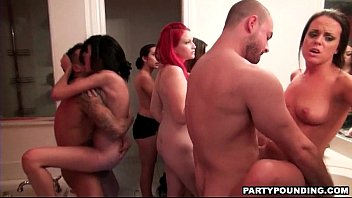 with sex midgets two group Milking by pink