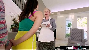 cute hard and voyeur teen nailed vid taped get by 27 Grandson came to my granny house10