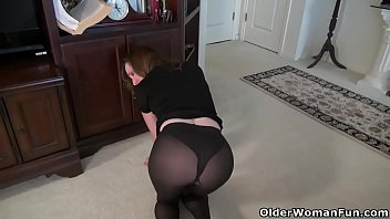 milf pantyhose solo Filthy latina blowing a tiny dick