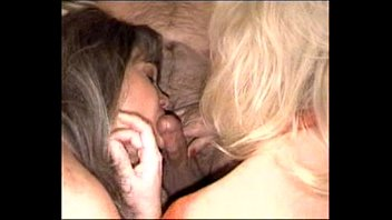 blone stretched mature wife Gangbanged in the basement