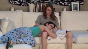 skinny asshole brunette lift for pays her french with Trisha uptown lesbian threesome