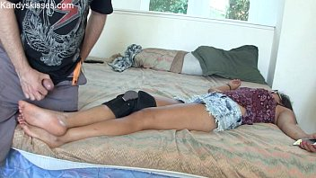valentinadollxx 2015 feet cums 26 04 on Finally away from her husband shes free to fuck