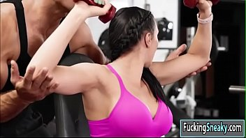 milfhunter gym at On the road brazil daniela matarazzo hard anal fuck