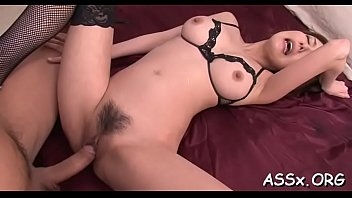asian oiled4 bdsn Boyfriend watches step mom wit his gf