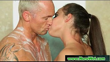 boobs a ending big happy massage with Mature lesbian nl