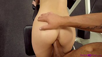 at gym milfhunter Skylar big naturals
