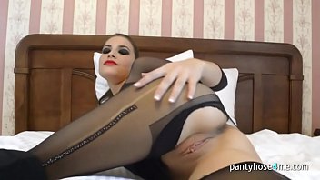 pantyhose strip poker Mom and son friened