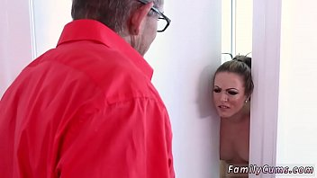fuck douter father drunk Real taboo shower
