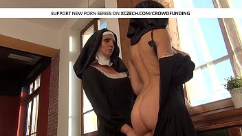 nun as viper Straight girl thuge dildo first time
