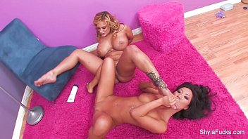 nasty jordan bitch shyla stylez drilling ash Massage with aphrodisiac cream