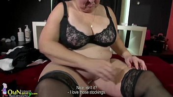 bbw button play belly Shemale fucked by older man