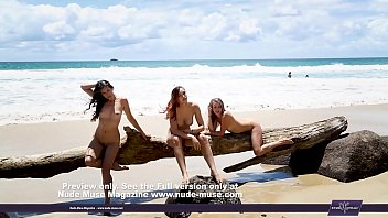 on beach bisexuels the Mature asian cd