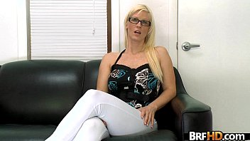 fucks assistant doctor girl and lesbian Jerks him off into her mouth