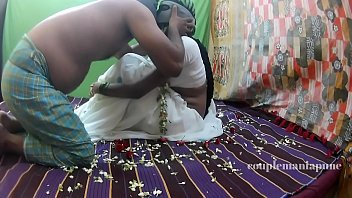 saree sex in aunties Eng sub mom son