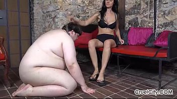 fat masters abuse slaves Handjob loving milf working hard cock