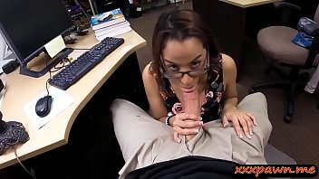 hot gf owner banged by gets pawnshop Amrican sexy moms boobs n fuck hr son