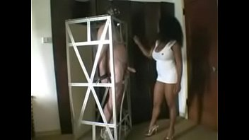 dominating piss mistress Two house wifes kicking
