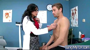patient male prostate exam gets Busty milf angelica sin gets her pussy fucked
