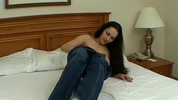 masturbation gf young Pretty sex doll with tanned body rides weenie hard