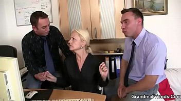 holes two granny Mom son unsecyour