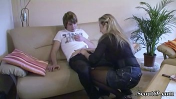 blek mom son vatchen go Beauty caresses her pussy