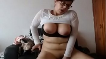 webcam blonde dildo Very hot footjob and fuck by big boobed latina