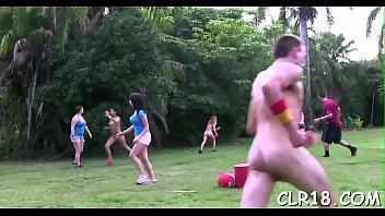 gay bound edge Grazy japanese family game show with fucking