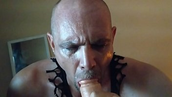 sucking cock dads brother caught Dirty slut sucking my big cock