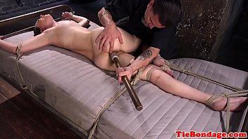 and up tied intense gagged blonde assfucked bitch Nasty hentai babe gets to be fucked so hard