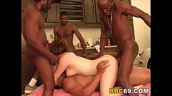 gangbang evans interracial ashley Husband caught her horny wife cheating