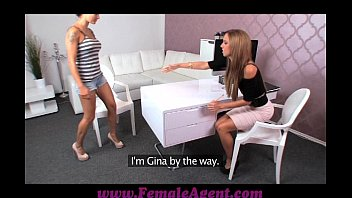 casting nerveous first Dirty girl seduced by a mature woman