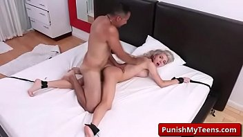 grandma own fuck Beautiful two girl strapon