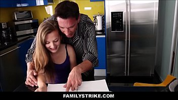 hard daughter fuckes dad ass in During first night